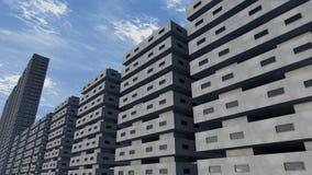 Futurystyczny miasto Obraz Stock