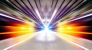 Futurystyczny miastowy tunel Fotografia Stock