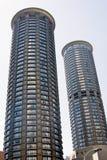 futurystyczny mieszkaniowy Seattle wierza Obraz Stock