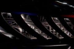 Futurystyczny parowozowy szczegół Zdjęcie Stock