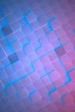 Futurystyczny Rozjarzony metali sześcianów tło ilustracja wektor