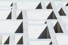 Futurystyczny skład - abstrakcjonistyczny artystyczny tło Sześcianu skład światło i cień Zdjęcie Stock