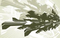 futurystyczny tło ilustracja wektor