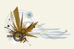 futurystyczny tło ilustracji