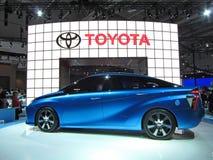 Futurystyczny Toyota ogniwa paliwowego samochód Zdjęcia Royalty Free