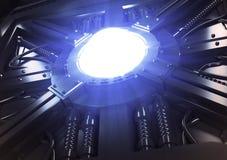 Futurystyczny władza generator zdjęcia stock
