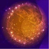 futurystyczny wektor ilustracyjny Techniki technologii cyfrowej pojęcie Zdjęcia Stock