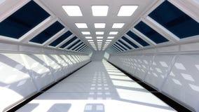 futurystyczny, wnętrze Zdjęcia Royalty Free