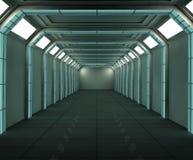 futurystyczny, wnętrze Zdjęcie Stock