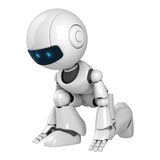 Fututistic robot Royalty Free Stock Photography