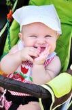 Fuuny baby girl Stock Photo