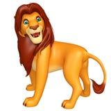 Fuuny Lion cartoon character Stock Image