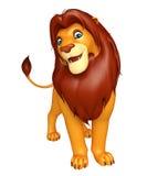 Fuuny Lion cartoon character Royalty Free Stock Photography