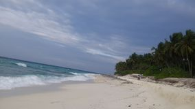 Fuvahmulah de Maldiven stock foto