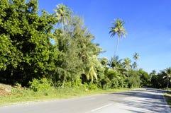 Fuvahmulah developed road Stock Photos