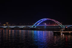Fuxing bridge Royalty Free Stock Photo