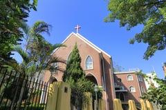 fuxingtang教会在鼓浪屿,厦门城市,瓷 图库摄影