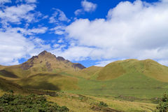 Fuya Fuya Volcano and the highlands of Ecuador Stock Image