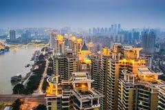 Fuzhou China Skyline Royalty Free Stock Photography