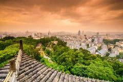 Fuzhou Cityscape Arkivbild