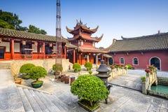 Fuzhou Kina tempel Arkivfoto