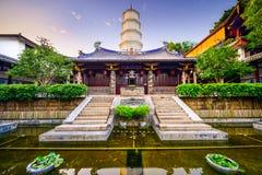 Fuzhou tempel Royaltyfria Bilder