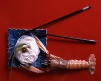 FUZI jedzenia sztuka Zdjęcie Royalty Free