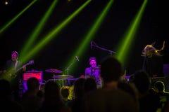 Fuzz orkiestra żywa przy Rockowym sul Serio festiwalem BG 20-07-2017 Fotografia Royalty Free