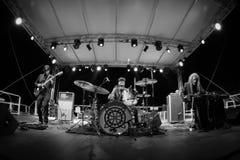 Fuzz orkiestra żywa przy Rockowym sul Serio festiwalem BG 20-07-2017 Zdjęcia Royalty Free