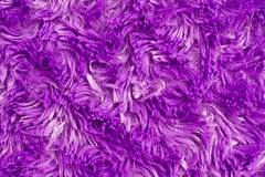 Fuzzy. And fluffy purple fabric Stock Photography