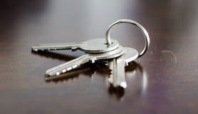 fuzzy artystyczny efekt specjalny stolik klucz Zdjęcie Royalty Free