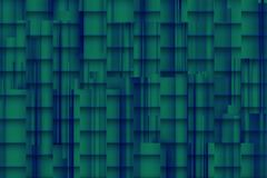 Fuzzy bluish background with architectonic 3d shadows. For different uses stock photography