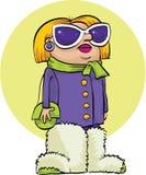 Fuzzy Boots illustrazione vettoriale