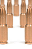 Fuzzy bullets Royalty Free Stock Photos