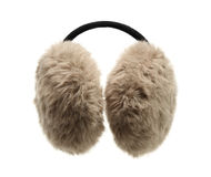 Fuzzy ear muff Royalty Free Stock Photos