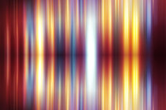 Fuzzy gradient line rainbow background futuristic Stock Photography