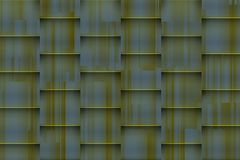 Fuzzy greenish background with architectonic 3d shadows. For different uses stock image