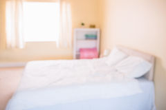 Fuzzy image of pregnancy bedroom Royalty Free Stock Image