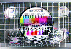 fuzzy karty test tv ilustracji