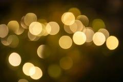 Fuzzy Lights Fotos de archivo