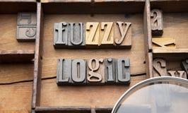 Fuzzy-Logik lizenzfreies stockfoto