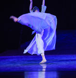 """Fuzzy skirt-Dance drama """"The Dream of Maritime Silk Road"""". Dance drama """"The Dream of Maritime Silk Road"""" centers on the plot of two royalty free stock image"""