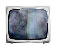 Fuzzy tv Stock Image