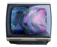 Fuzzy tv Royalty Free Stock Photography