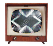 Fuzzy tv Stock Photos