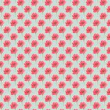 Fuzzy water color flower seamless background stock illustration