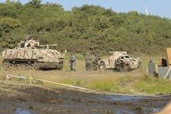 FV432 armored vehicle Stock Image