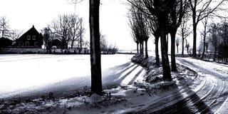 FV Grafik Winterland Lizenzfreies Stockbild