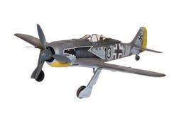 Fw190 ModelUitrusting Royalty-vrije Stock Foto