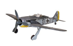 Fw190 Scale Model royalty free stock photo